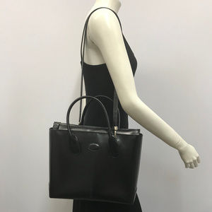 Tod's Black Leather Classic Bag
